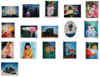 artist oil painting portfolio