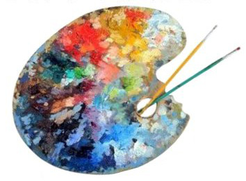 artist oil painting-pigments