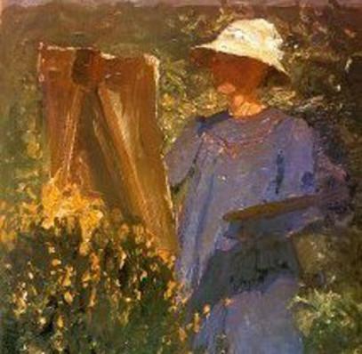 oil painting become an artistt