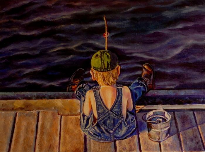 rtist oil painting Summer Daze