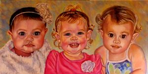 artist oil paintings commissions children