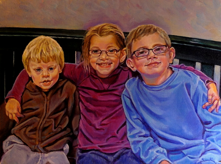 artist oil paintings Lenas Kids